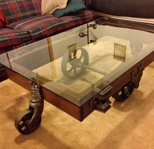 Antique Table Top Glass