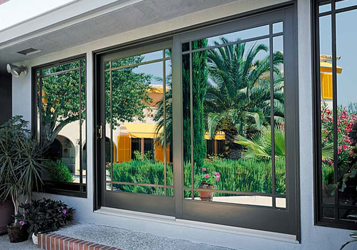 Luxury Aluminum Frame Glass Door