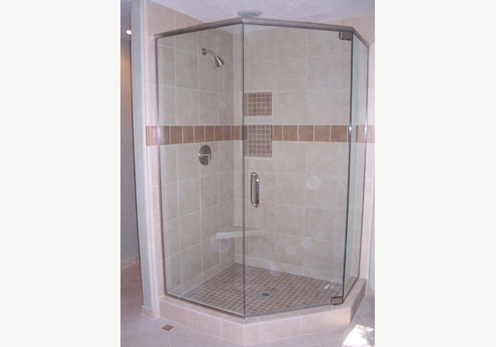 Affordable Corner Glass Showers
