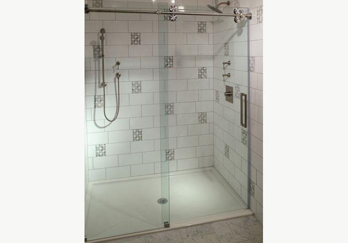 Segmented Steam Enclosure  Escondido; Outdoor Glass Shower Enclosures