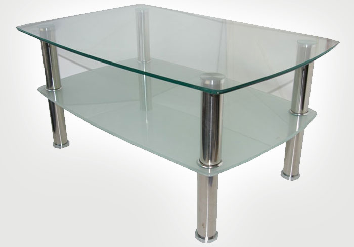 Double Glass Tabletop