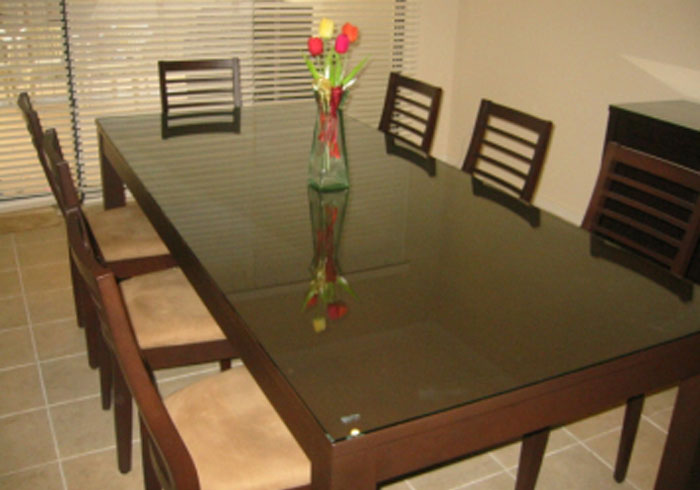 Cut To Pattern; Dining Table Glass Top