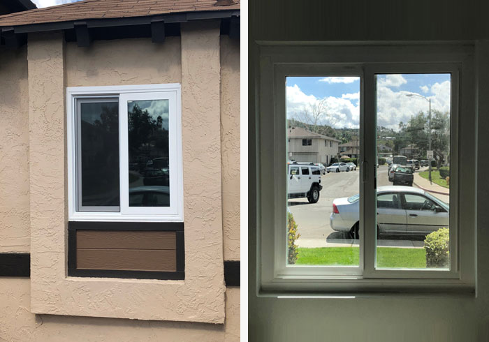 Retrofit Vinyl Window in Santee, CA