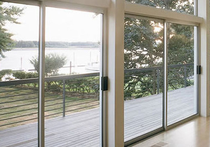 Large Glass Sliding Window