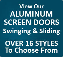 Aluminum Swinging & Sliding Screen Door
