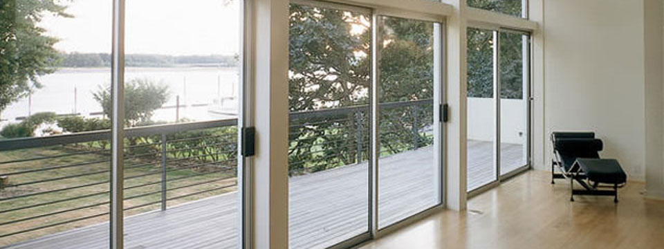 Aluminum Frame Home Privacy Glass Window