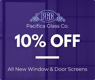 10% Off on Window & Door Screen Replacement